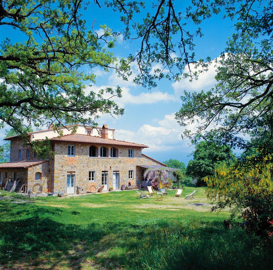 義大利托斯卡尼,百年橡樹大器別墅。 Airbnb /提供
