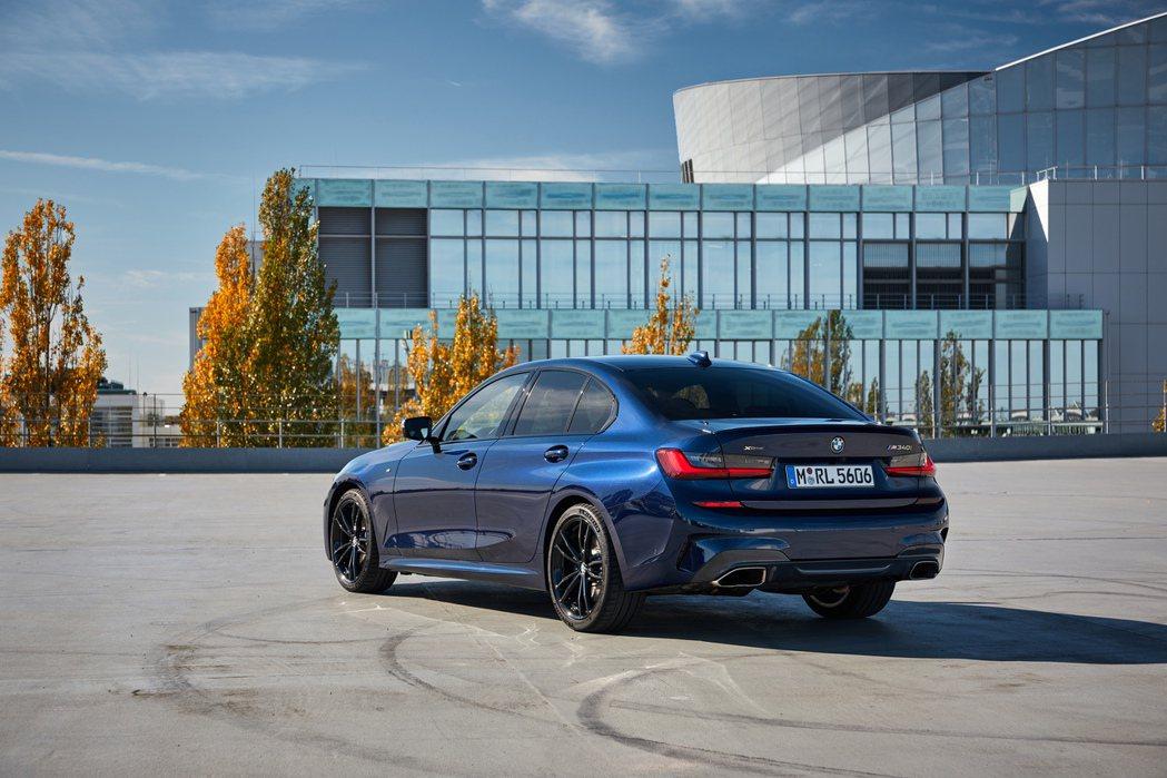 全新BMW M340i xDrive Sedan。 摘自BMW