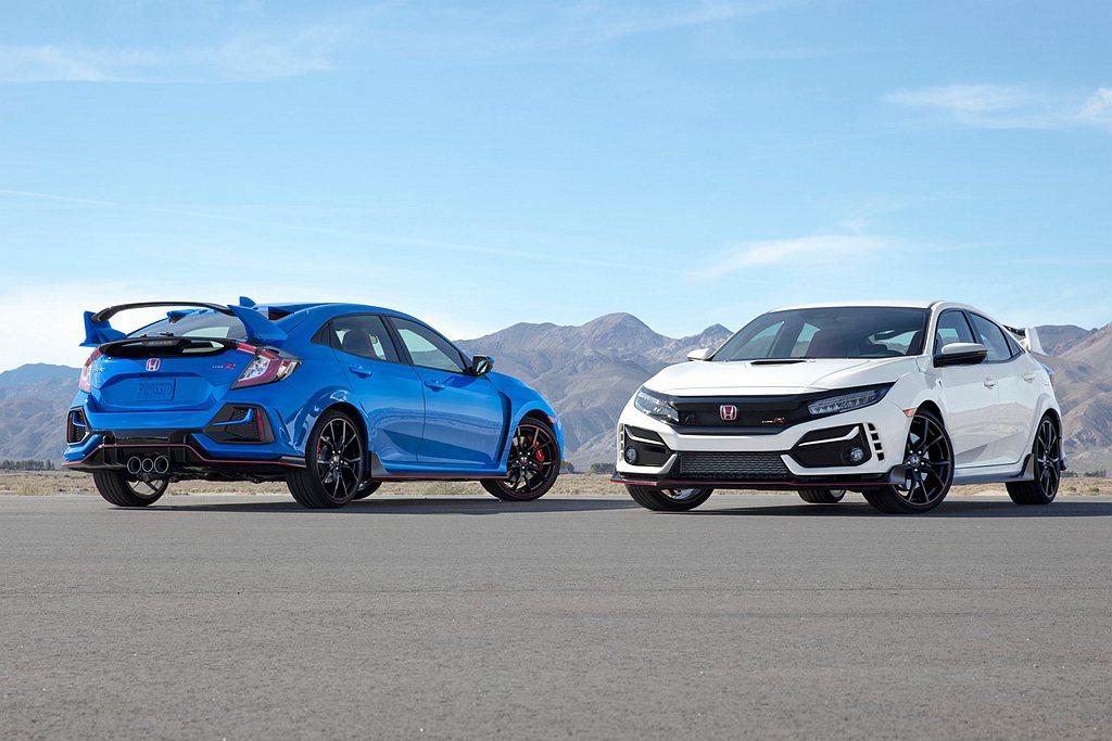 新年式Honda Civic Type R重新設計的前保桿,提供Intercoo...