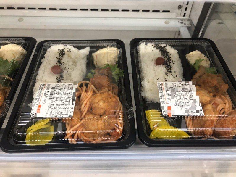 日本超市的便當菜色相當豐富,有PTT網友讓眾人猜猜看一份多少錢。圖翻攝自PTT