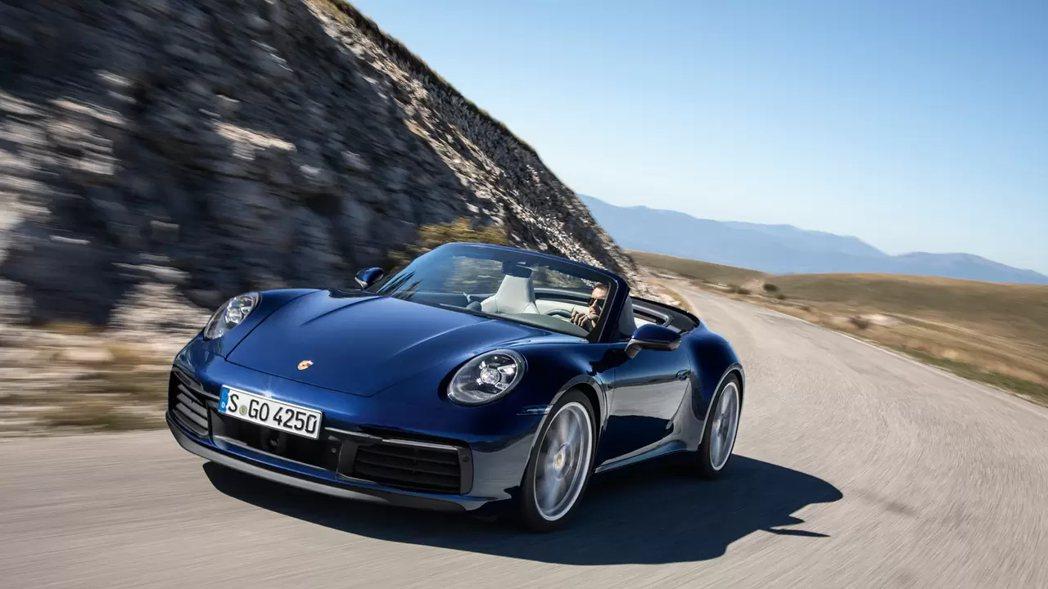 Porsche 911 Cabriolet。 圖/原廠提供