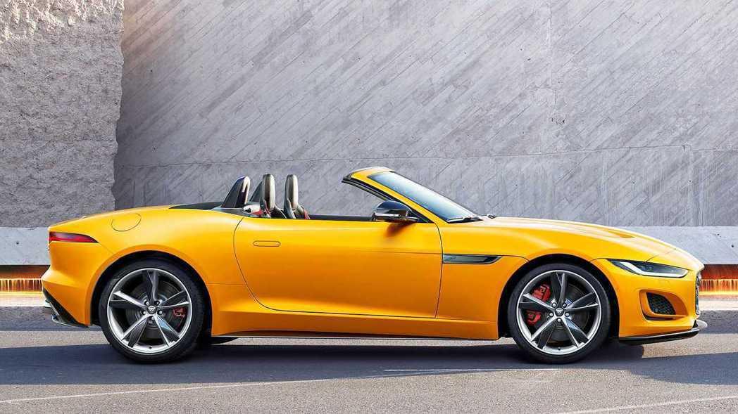 Jaguar F-Type Convertible。 圖/原廠提供