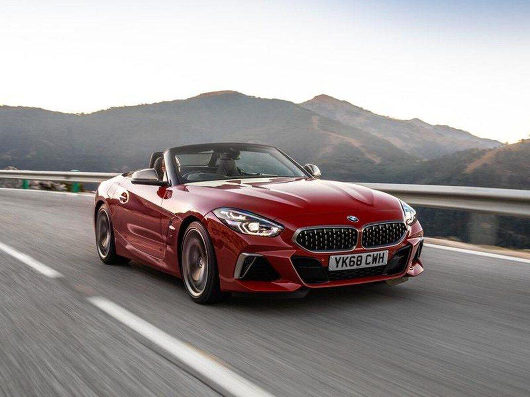 BMW Z4。 圖/原廠提供