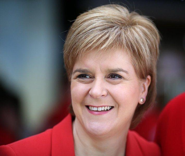 蘇格蘭首席部長施特金表示,政府正在著手進行下一次的獨立公投。(photo by Twitter)
