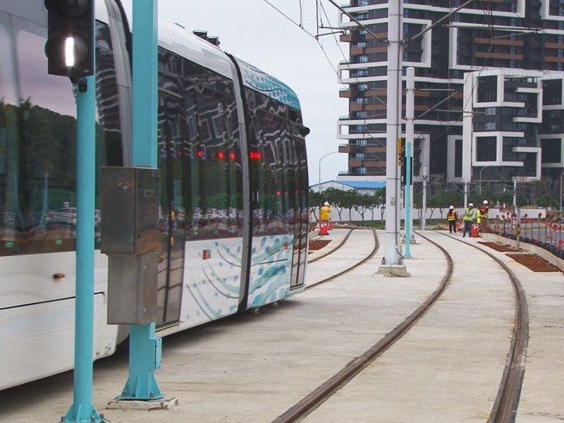 淡海輕軌藍海線第二期工程規畫行經老街,居民表達反對聲浪,對此捷運局尋找替代方案。 圖/紅樹林有線電視提供