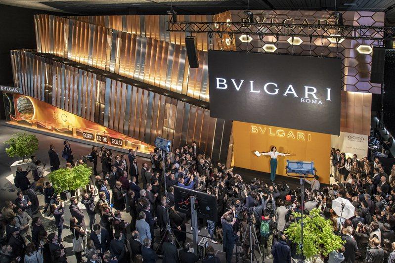 寶格麗宣佈將退出今年的巴塞爾珠寶暨鐘表展(Baselworld),讓業界都譁然。圖/BVLGARI提供