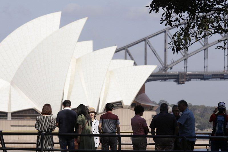 新冠肺炎疫情嚴重衝擊澳洲旅遊業。  美聯社
