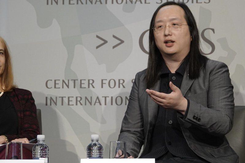 政務委員唐鳳訪問美國,與智庫學者座談。記者張文馨/攝影