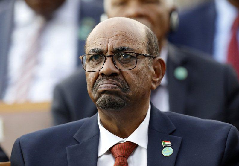 蘇丹前總統巴希爾。美聯社