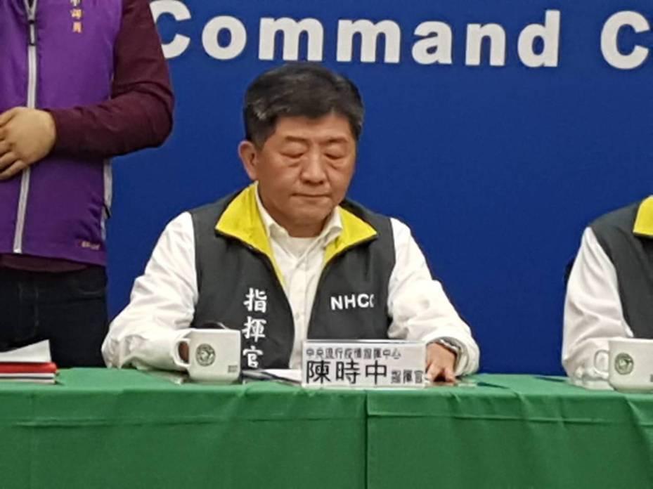 陳時中今天宣布撤回陸籍子女來台政策。記者楊雅棠/攝影