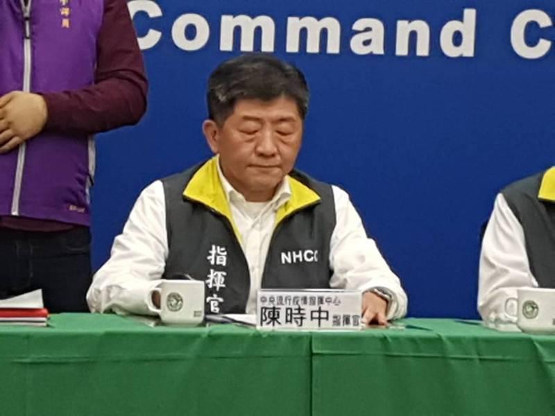 陳時中否認指考延後兩日。記者楊雅棠/攝影