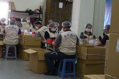 國軍助廠商產製口罩 韓國瑜:軍民同心抗疫,很了不起