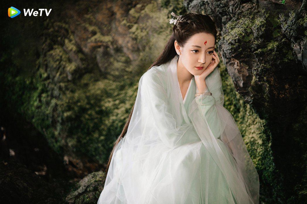 迪麗熱巴演出「三生三世枕上書」。圖/WeTV提供