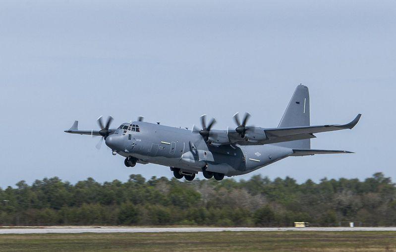MC-130J特戰運輸機。圖/美國空軍檔案照