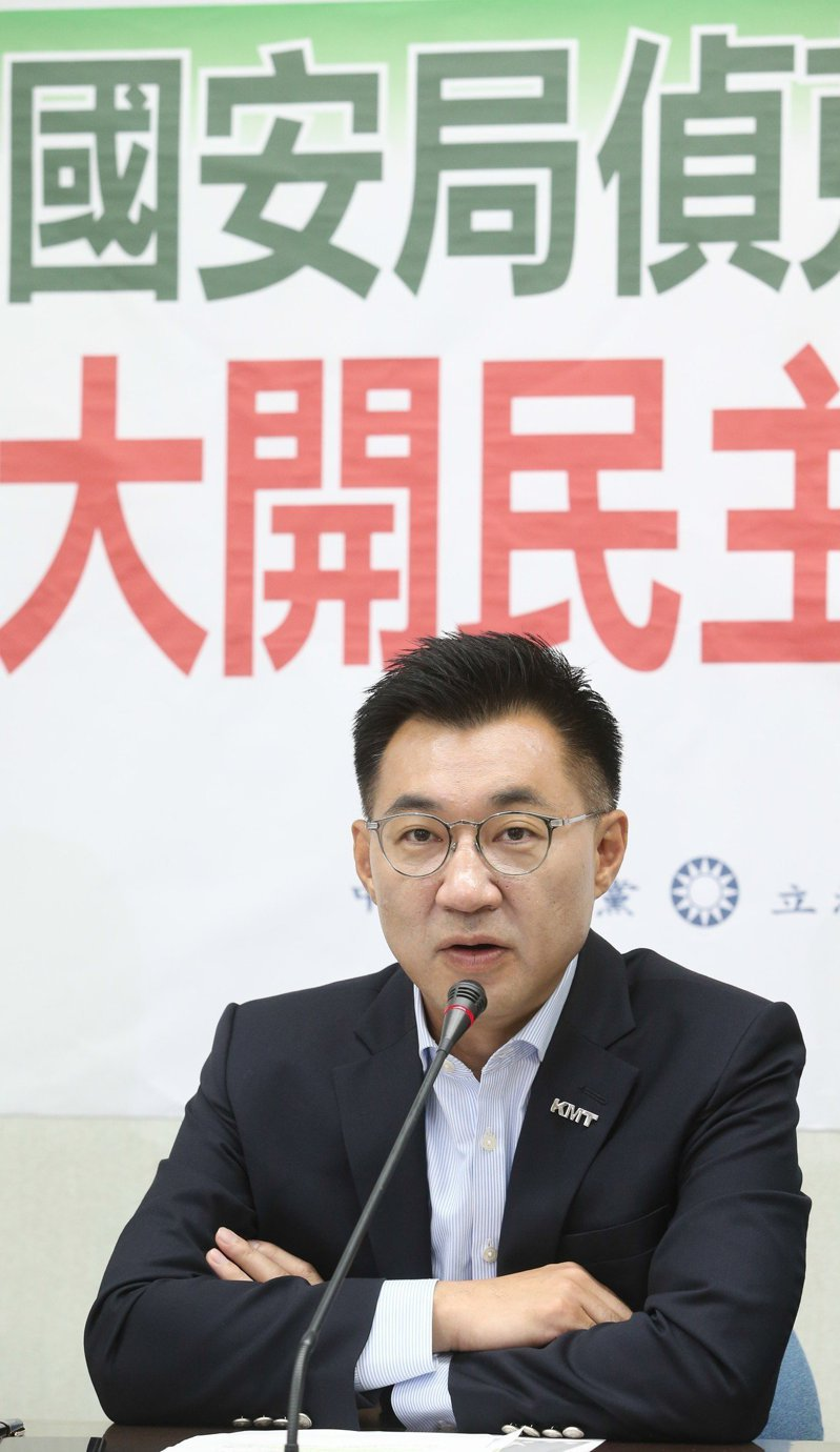 黨主席候選人、立委江啟臣。本報資料照片