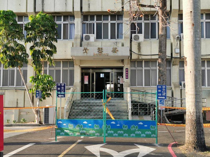 嘉義大學在林森校區規劃70多間個人宿舍,提供港澳學生免費食宿、網路,做自我健康管理隔離。記者卜敏正/攝影