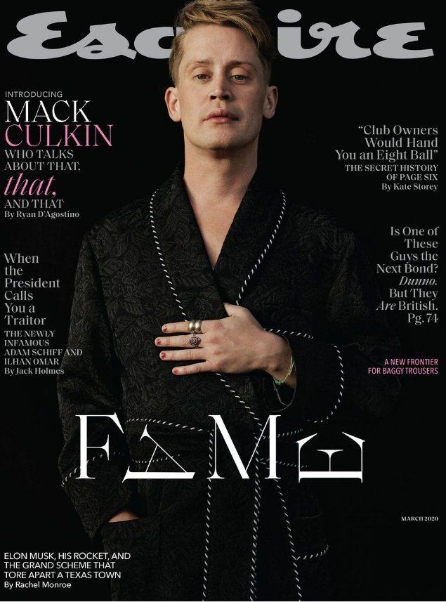 麥考利克金的娃娃臉看不出已經快要40歲。圖/摘自Esquire