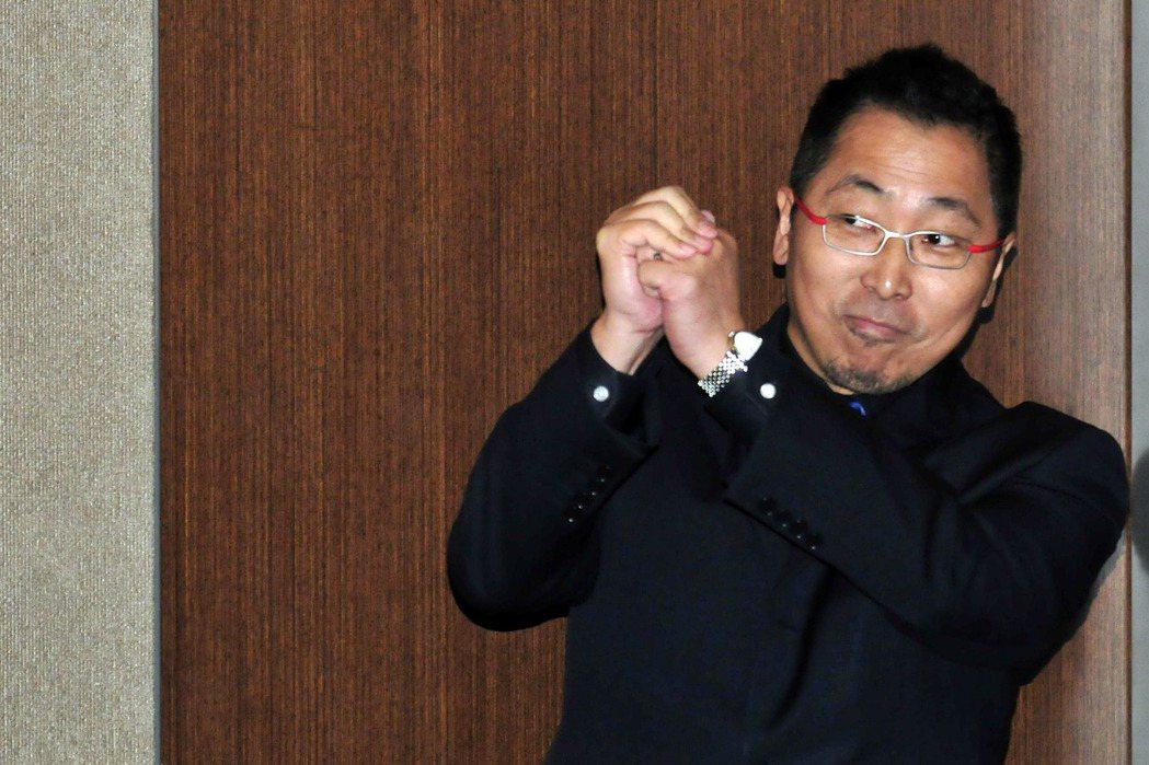 唐湘龍近期消失在政論節目中。圖/報系資料照