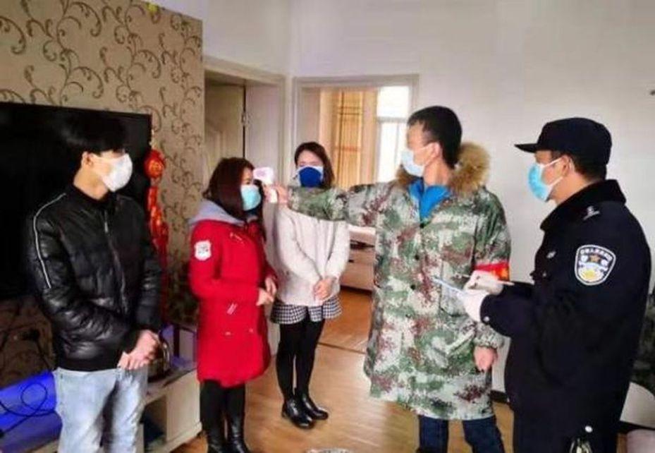 社會事件簿/小區封閉食物耗盡,武漢市蔡甸街建一傳銷團伙自首 圖/長江日報