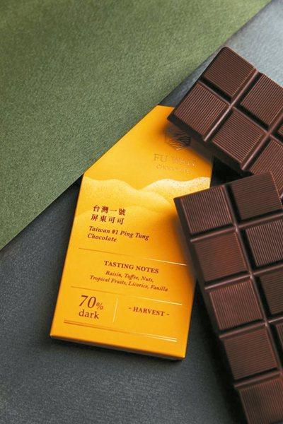 福灣巧克力。 圖/聯合報系資料照片