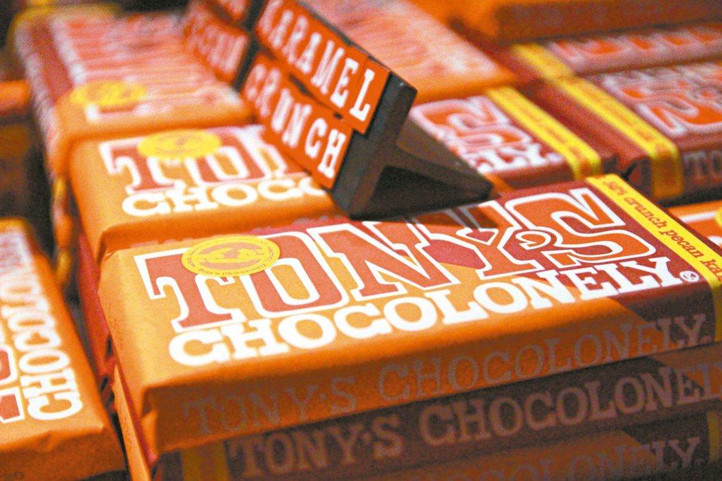 東尼巧克力在台灣也買得到。 圖/卓瑜玉攝影