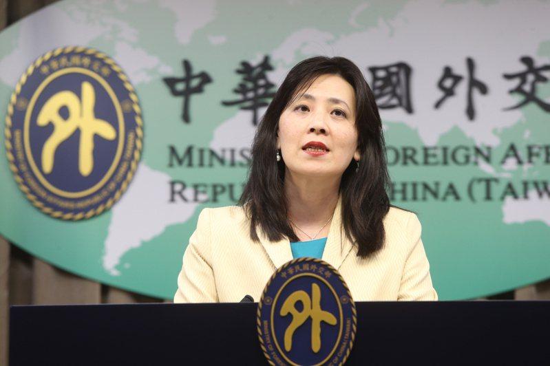 外交部發言人歐江安。聯合報系資料照/記者邱德祥攝影