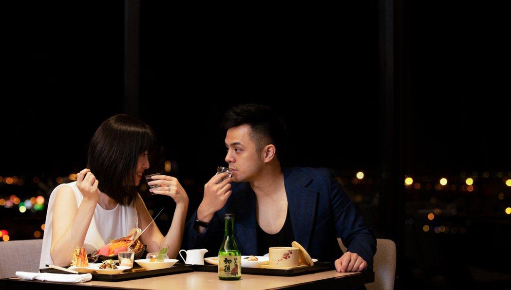 無菜單料理買一送一,很適合帶情人一起來用餐 業者/提供