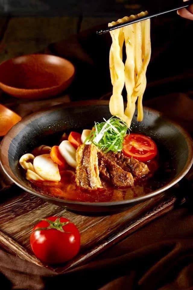 漢典食品「螺情極品紅燒牛肉麵」。 漢典食品/提供