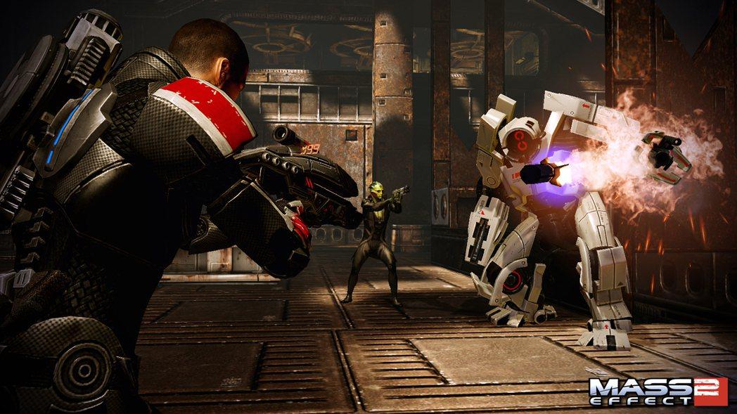 《質量效應2》遊戲畫面
