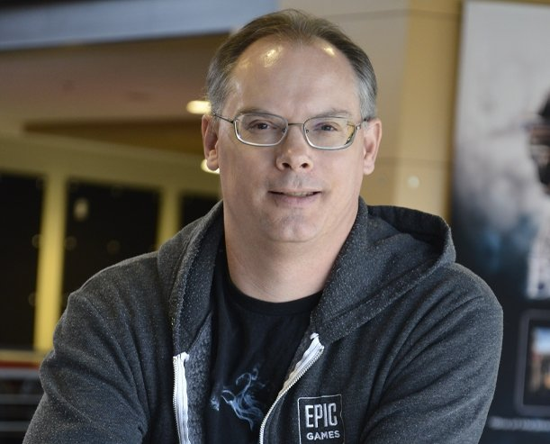 Epic Games 創辦人兼執行長 Tim Sweeney 圖:Dice Su...