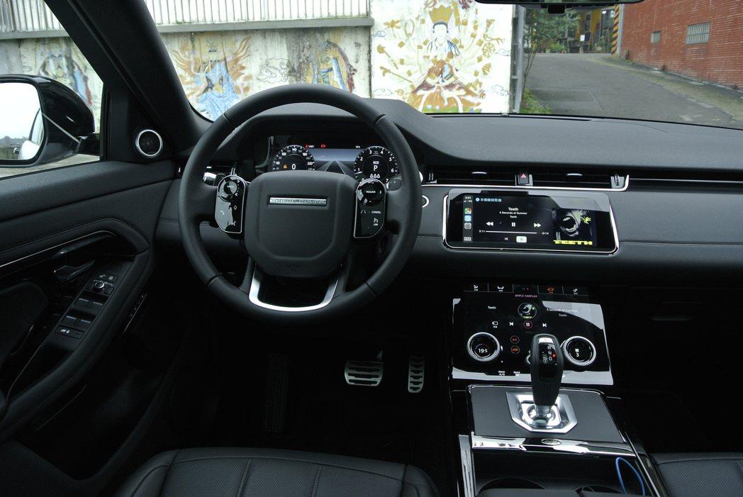 第二代Land Rover Range Rover Evoque內裝。 記者黃俐...