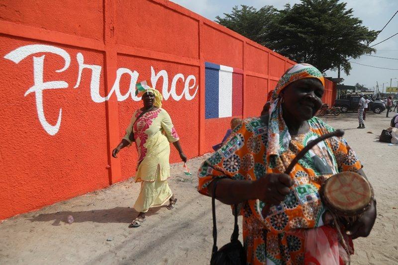 除了幾內亞比索外,WAEMU國家從前都是法國殖民地,圖攝於象牙海岸。 圖/路透社