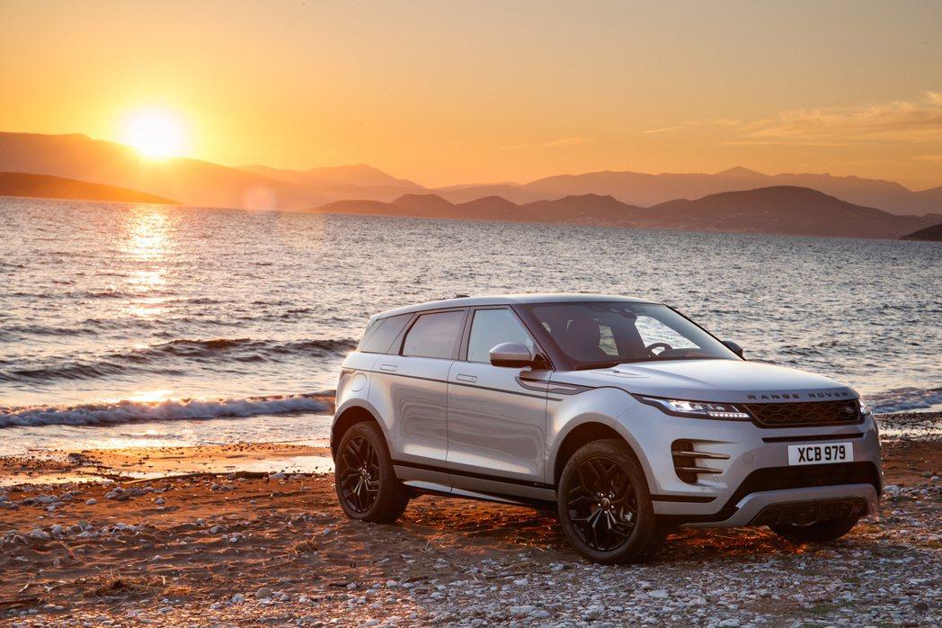 第二代Land Rover Range Rover Evoque。 摘自Land...
