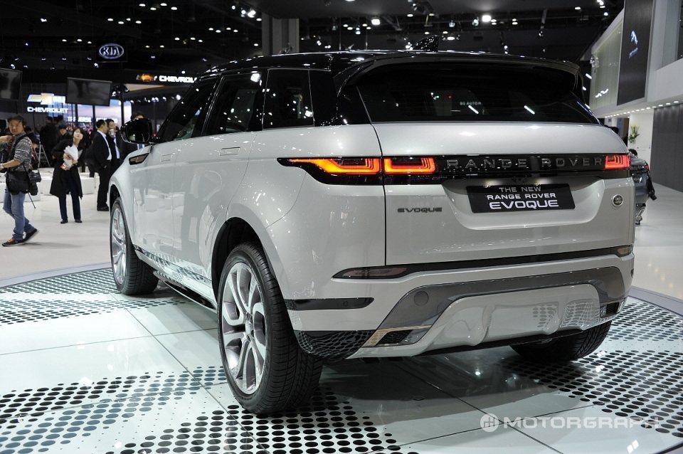 第二代Land Rover Range Rover Evoque在去年三月底的首...