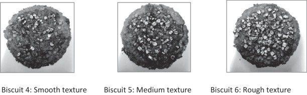 外觀質地呈現粗糙表面的3種燕麥餅乾。 圖片提供/食力(來源:Science Di...
