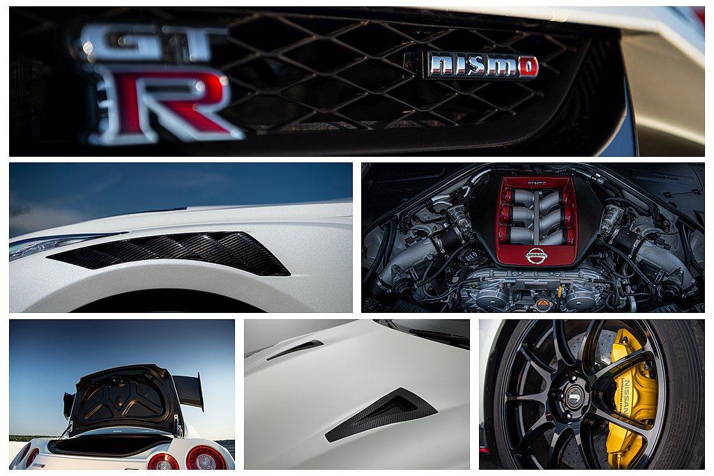 2020年式Nissan GT-R Nismo動力依舊維持600ps輸出,透過改...