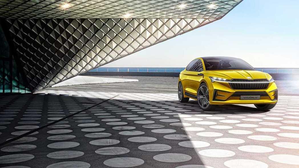 Škoda暫時沒有透露有關Enyaq的任何細節,但預計這輛零排放SUV將會是之前...