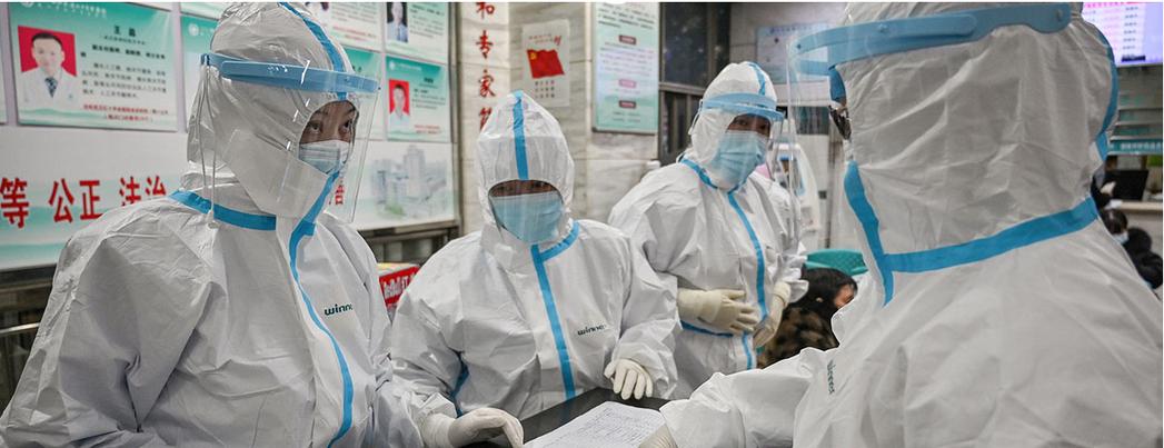 武漢肺炎疫情採取新的診斷分類「臨床診斷」。取自觀察者網