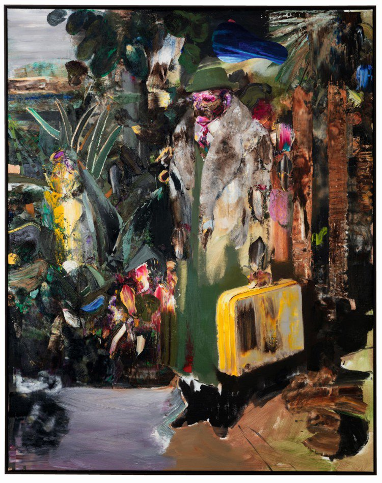藝術家Adrian Ghenie首次登上拍賣,作品《來客The Arrival》...