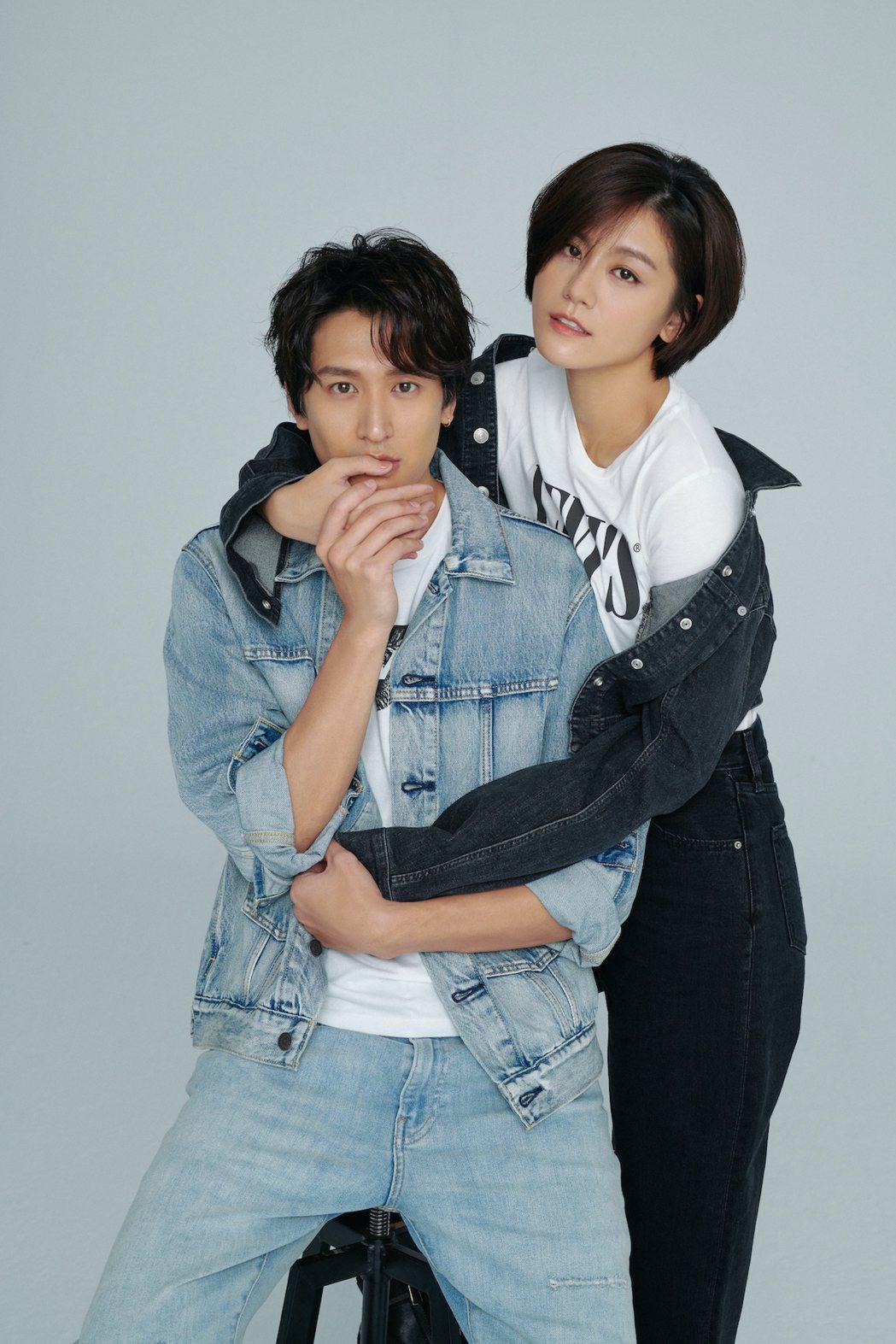 邵翔(左)和小蠻宣布結婚  圖/樂昕娛樂提供
