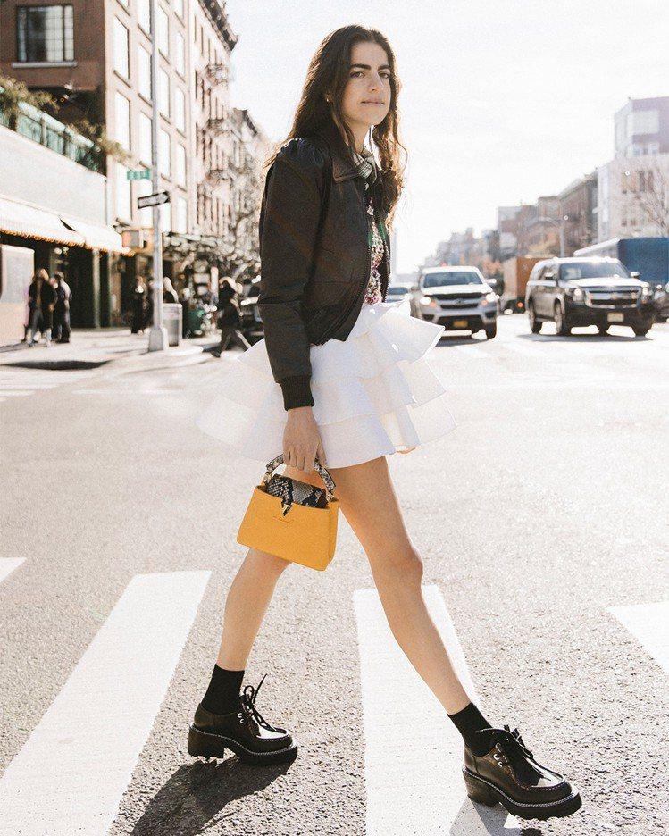 Leandra Medine Cohen詮釋LV Beaubourg德比鞋,售價...