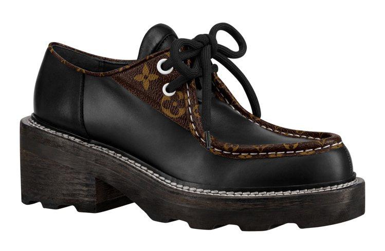 LV Beaubourg德比鞋,售價38,600元。圖/LV提供