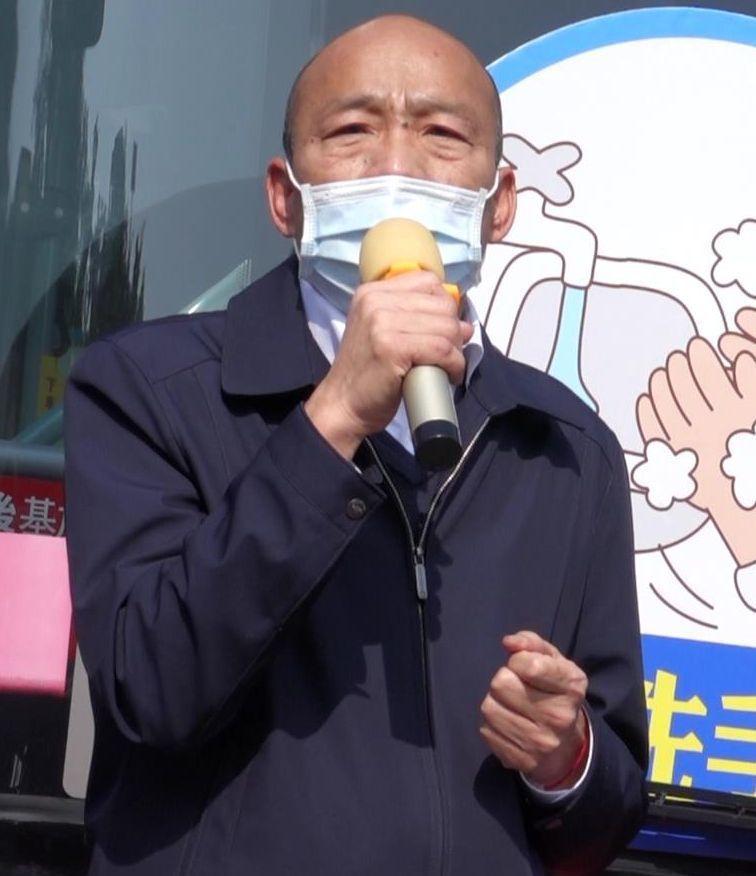 高雄市長韓國瑜今天列席行政院會,請中央未來能考量制定「嚴重特殊傳染性肺炎防治及紓困暫行條例」。圖/本報資料照片