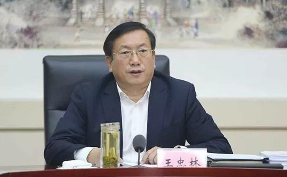 王忠林任武漢市委書記。圖/北京日報