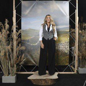 紐約時裝周/布蕾克萊芙莉背心快撐破 亮麗出席MK大秀