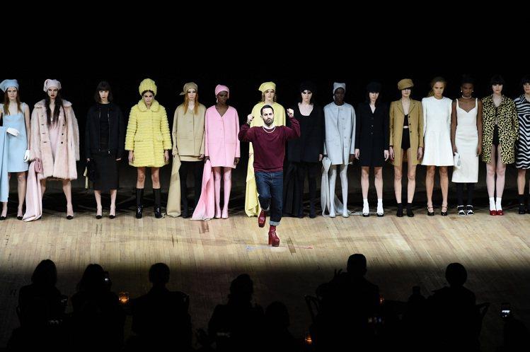 Marc Jacobs是紐約時裝周壓軸大秀。圖/Marc Jacobs提供