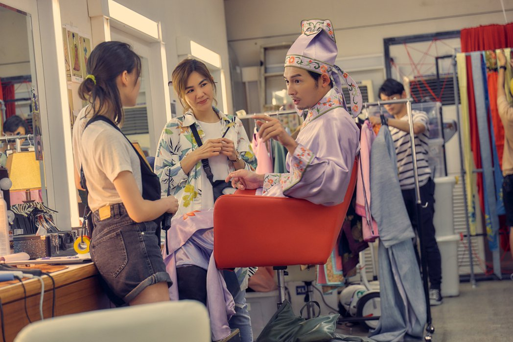 阿KEN自編自導自演的電影「練愛iNG」發佈電影正式預告。圖/藝起娛樂提供