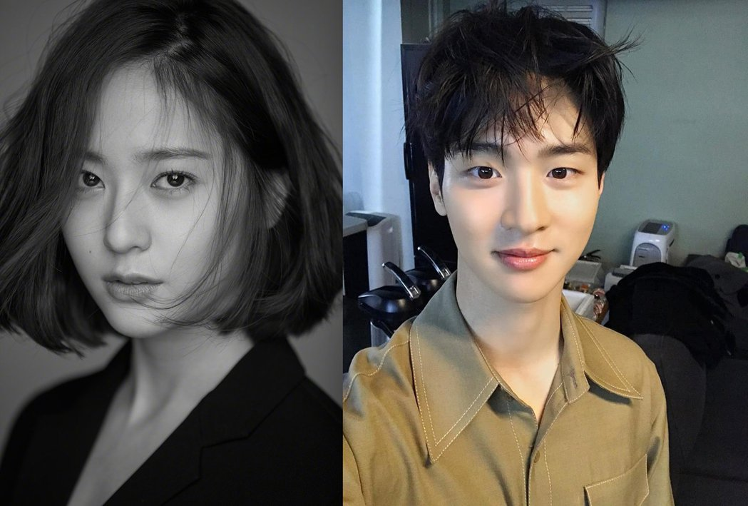 Krystal(左)和張東潤合作新戲「Search」,被稱是性別轉換版的「愛的迫...