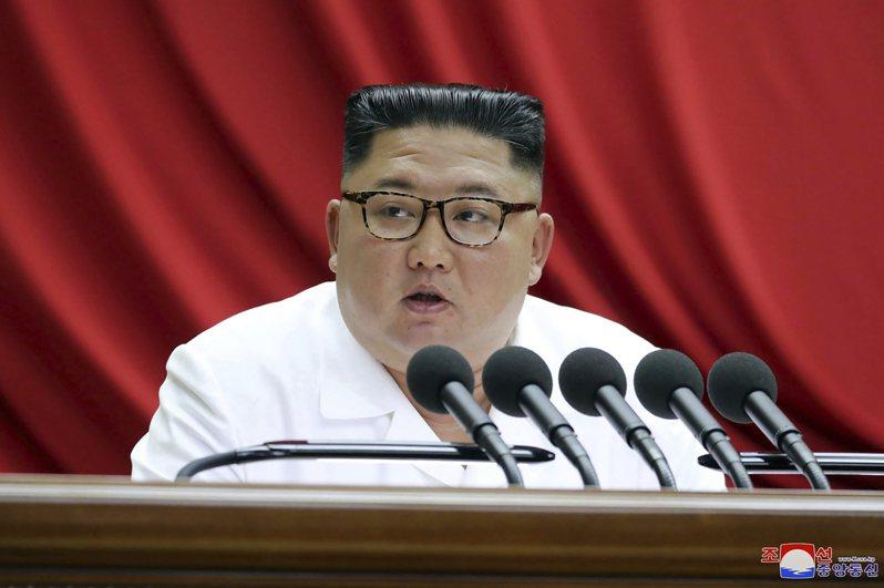 北韓最高領導人金正恩。(美聯社)