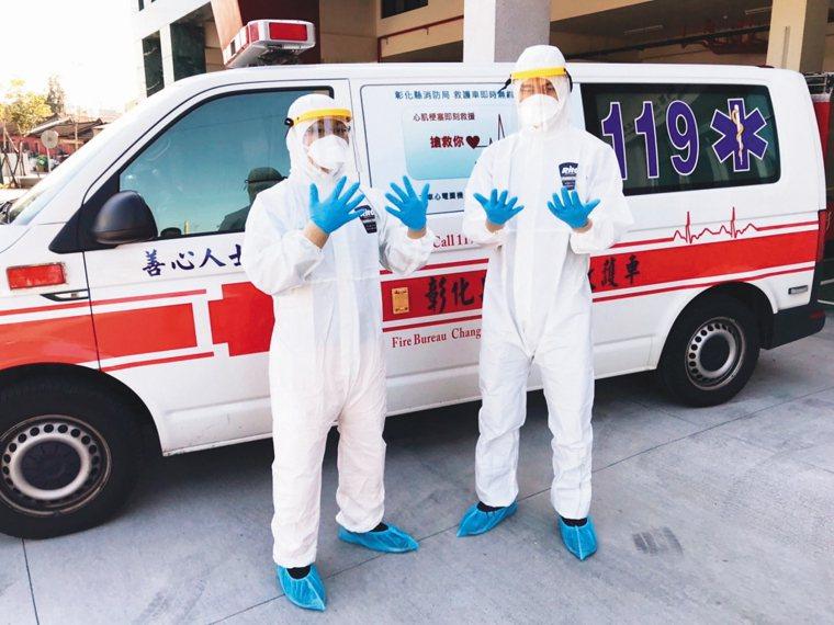 SARS期間五十餘輛負壓隔離救護車均已報廢,各縣市消防局只能使用一般專用救護車或...